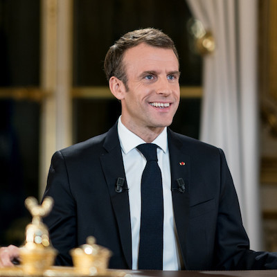 L'intervention d'Emmanuel Macron